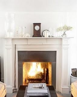 Fireplace . . .