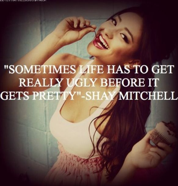 Shay Mitchell Quotes Quotesgram