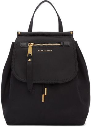 Shop Now - >  https://api.shopstyle.com/action/apiVisitRetailer?id=609046723&pid=uid6996-25233114-59 Marc Jacobs Black Trooper Backpack  ...