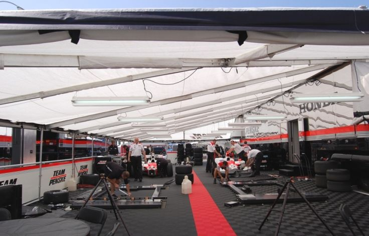 Team Penske Hits The Race Circuit With A Clean Well Lit Place To Work