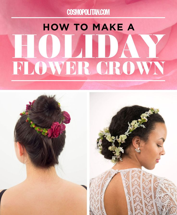 HOLIDAY FLOWER CROWNS: Stand out from everyone at the New Year's Eve party with a DIY custom and wintry flower crown. Here you'll learn how to easily make 5 holiday flower crowns that are perfect for New Year's Eve parties or any holiday celebration. Make them ~seasonal~ perfection with wintry branches, berries, and metallic accents. Plus, you can use these easy flower crown tutorials to make gorgeous accessories year round! Click through to learn how to make these stunning creations from…
