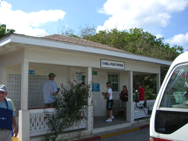 Send a postcard from hell - Grand Cayman