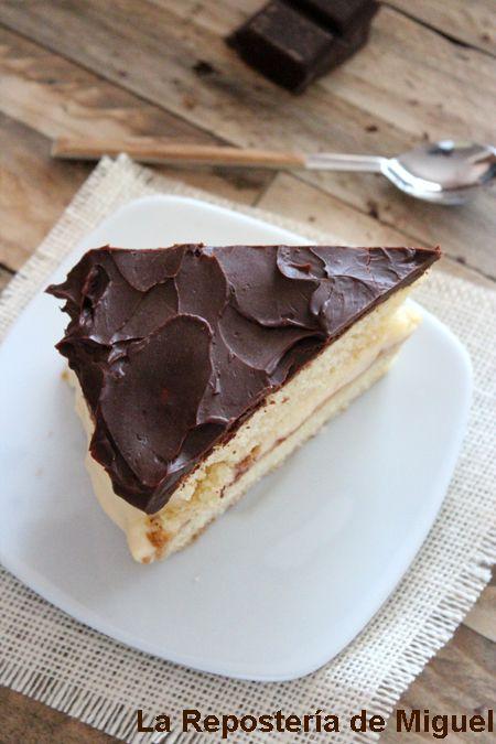 [Cocina] Boston cream pie ( reposteria americana )