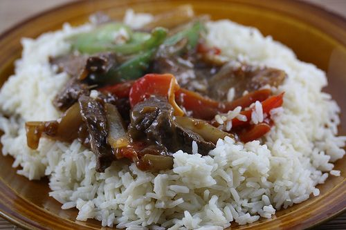 Venison Pepper Steak Stir Fry