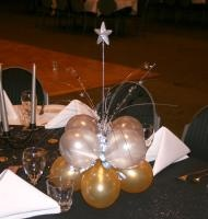 prom table balloon decorating ideas | School Formal Decor | Balloon Brilliance | Canberra
