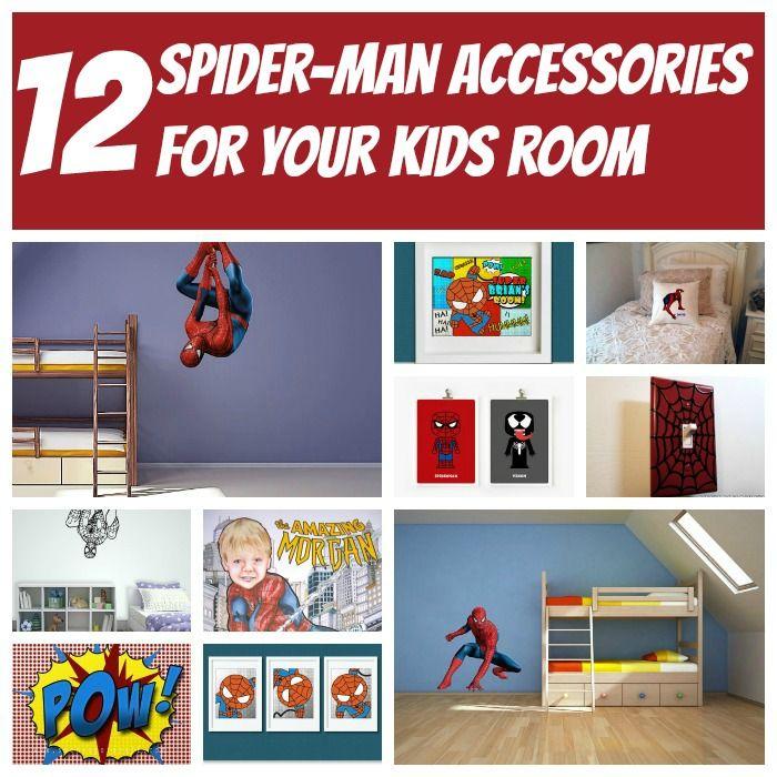 26 best spiderman room images on pinterest boy nurseries for Spiderman kids room