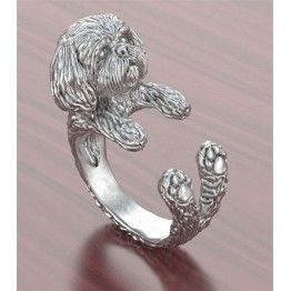 Fashion Free Size Dog Ring For Pet Lovers