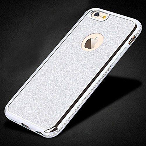 Sunroyal® Bling TPU Coque pour Apple iPhone 6 Plus /6S Plus (5.5 pouces) Ultra Mince Paillette Case Cover Telephone Portable Soft Housse…