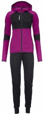 REEBOK Trainingsanzug Damen in Grau | ABOUT YOU