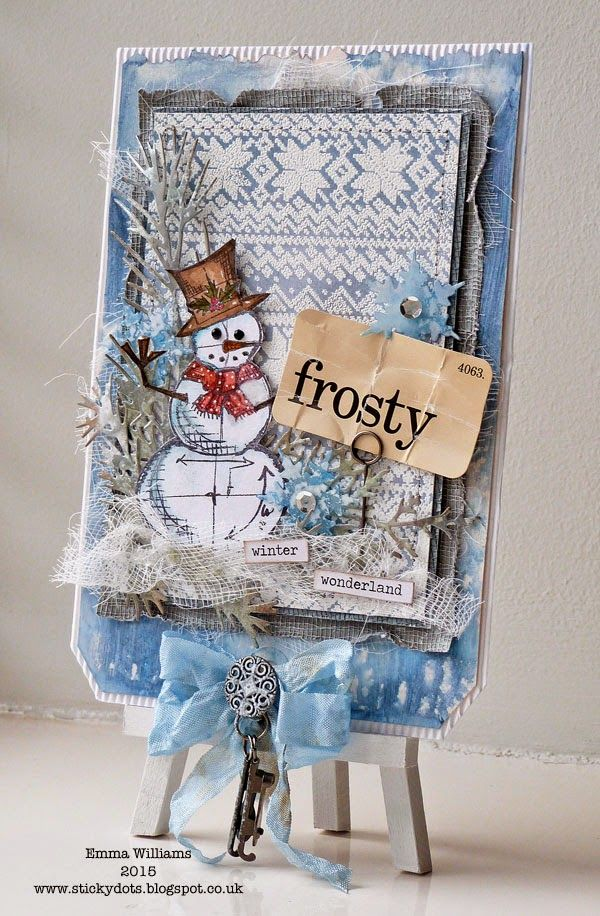 That's Life: Winter Stamping ~ Simon Says Stamp Monday Challenge
