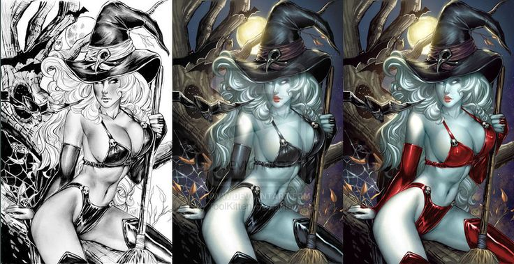 Lady Death pagan edition by ToolKitten