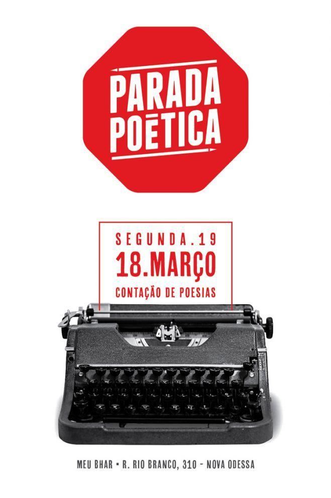 Parada Poética: encontro celebra poesia e arte em Nova Odessa