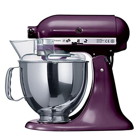 Artisan mixer boysenberry - KITCHEN AID - Food mixers & blenders - Kitchen electrical - Home & Tech | selfridges.com