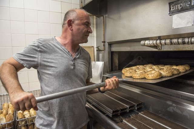 "For 20 years, it's been known as ""the place"" to go for bagels. Savvas Andrews, owner/operator of The Bagel Cafe, 301 N. Buffalo Drive, said part of the business' longevity was because he insists on consistency. He said a bagel made 20 years ago would taste the same as one made today."