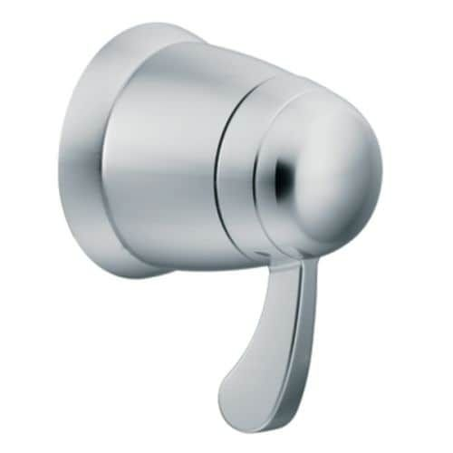 Moen TS3600 Single Handle Volume Control Valve Trim Only from the ExactTemp Collection (Nickel Finish)