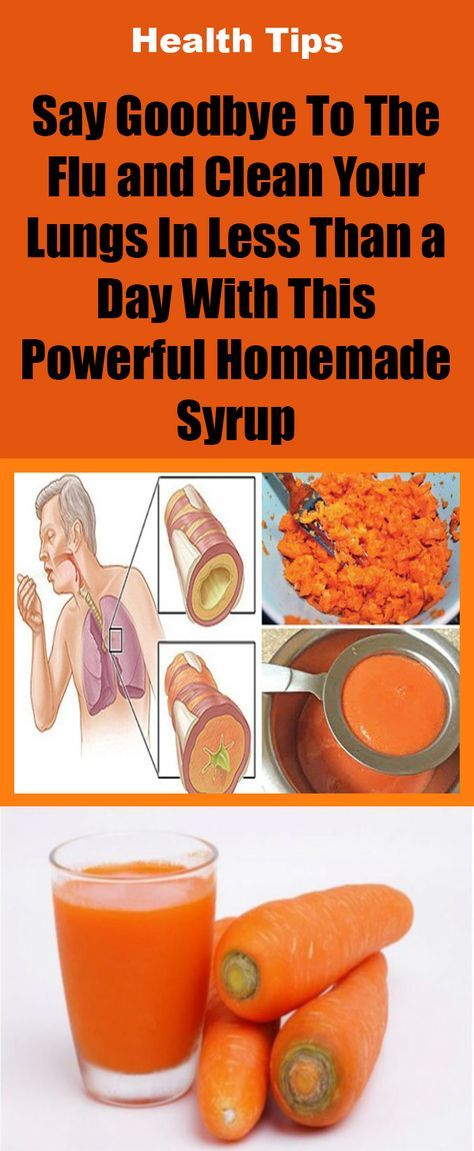 Say Goodbye To The Flu and Clean Your Lungs In Less Than a Day With This Powerful Homemade Syrup