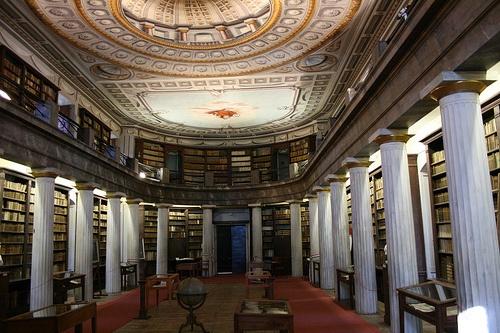 Library of the Sárospatak Protestant Boarding School, Sárospatak, Hungary