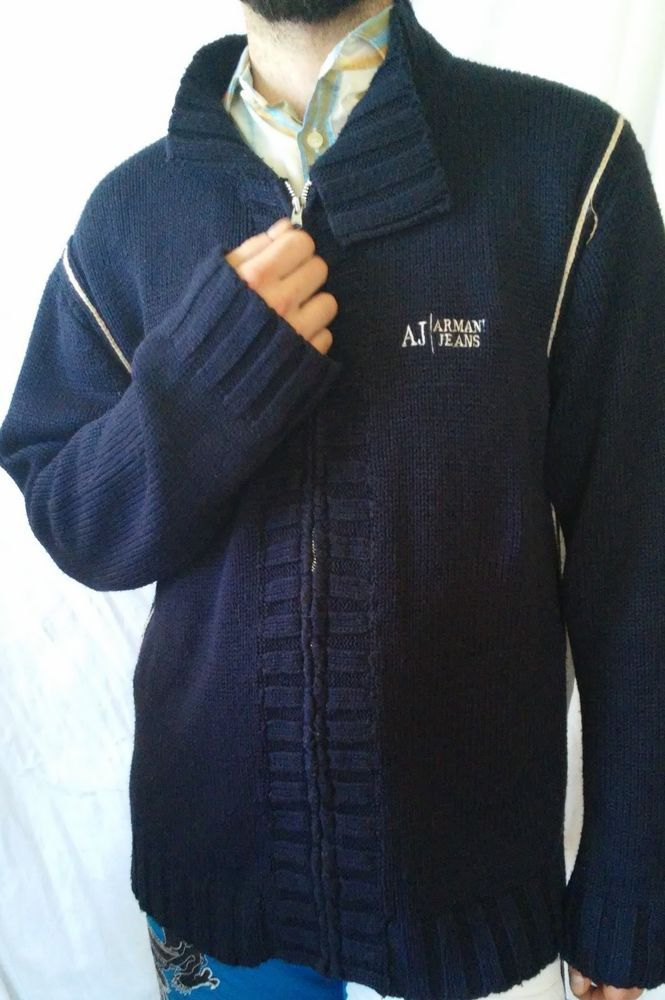 #twitter#tumbrl#instagram#avito#ebay#yandex#facebook #whatsapp#google#fashion#icq#skype#dailymail#avito.ru#nytimes #i_love_ny #cnn # BBCBreaking #  BBCWorld #  cnnbrk # nytimes # globaltimesnews #     armani jeans Blue zip sweaters size M, US 3XL #ArmaniJeans #Cardigan