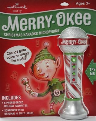 My Elf is bringing this to help us learn to sing like an elf! So excited!!