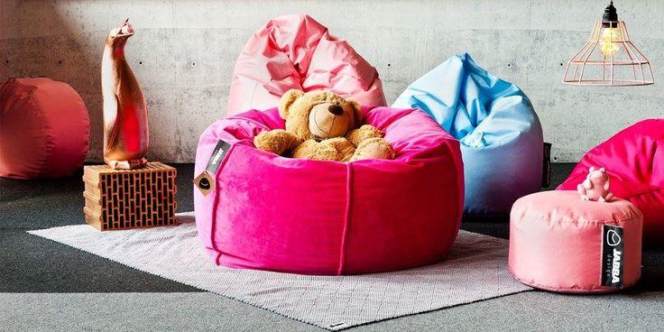 Bean bag for children Minky - Jabba Design showroom.