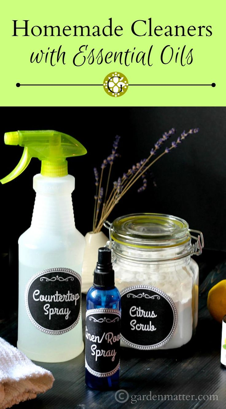 Learn some easy recipes for wonderful smelling homemade cleaners that you can use in your home, made with simple ingredients and essential oils.