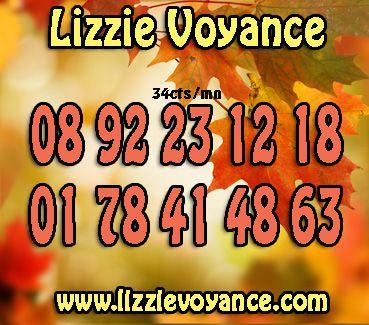 Lizzie Voyance, votre avenir dévoilé par téléphone http://www.lizzievoyance.com/