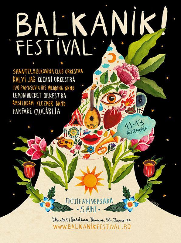 Balkanik!Festival Poster - aitch