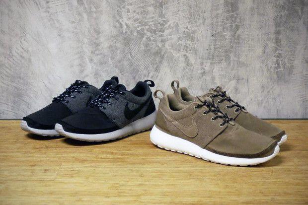 Nike Sportswear 2012 Fall/Winter Roshe Run Premium NRG. UUugggghhhh!!!! Looooooove!!