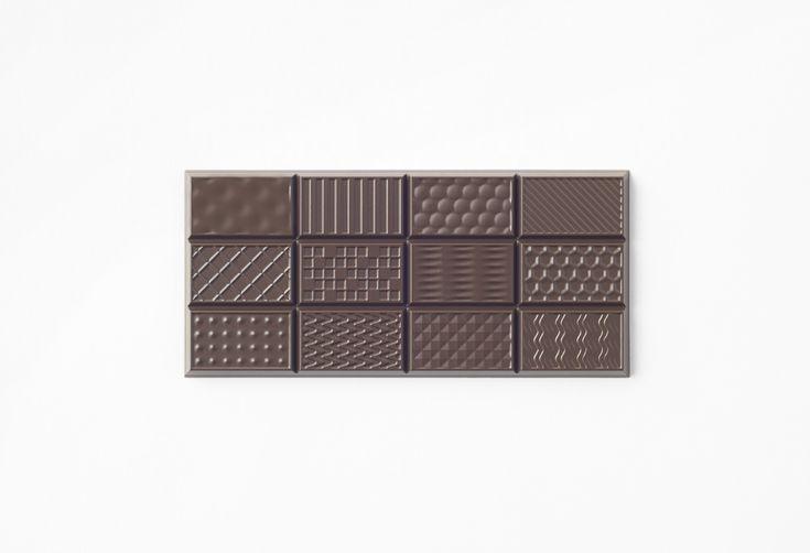 Chocolatexturebar le goût par la texture par Nendo