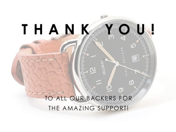 HELGRAY – Vintage military style watches with Swiss movement's video poster. Check it out. They got funded.