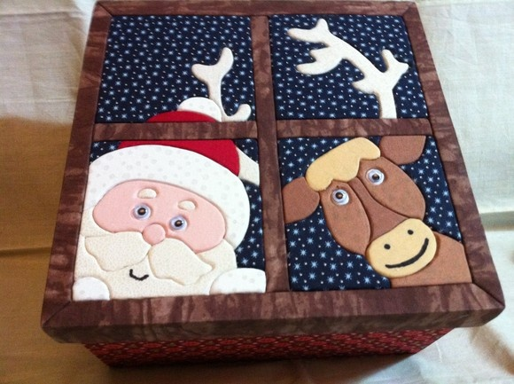 Very cute for a christmas box