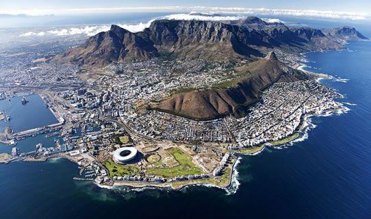 Cape Town şu şehirde: Western Cape