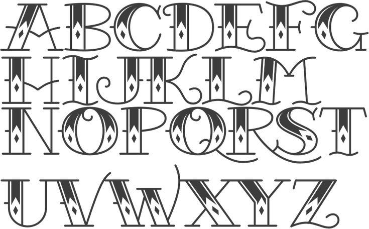 MyFonts: Tattoo fonts