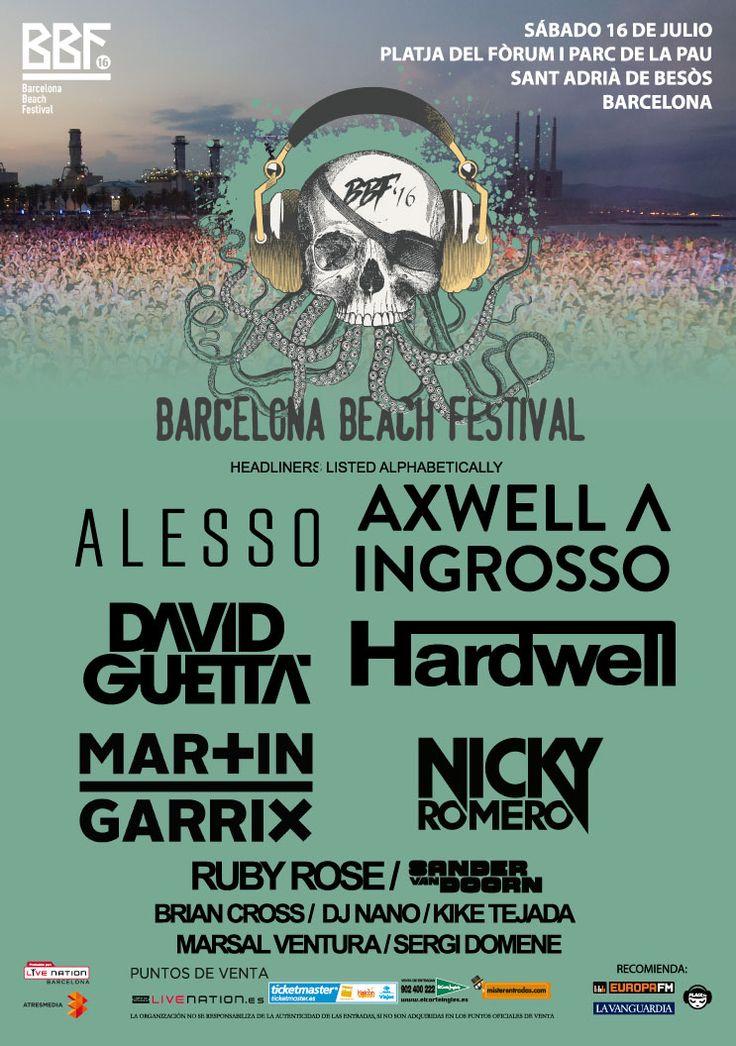 BBF BARCELONA BEACH FESTIVAL 2016
