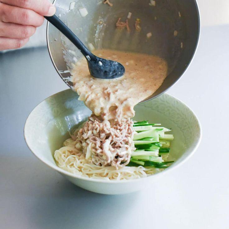 【料理家さんの定番レシピ】第3話:混ぜるだけで本格派♪ピリ辛冷やし担々風そうめん