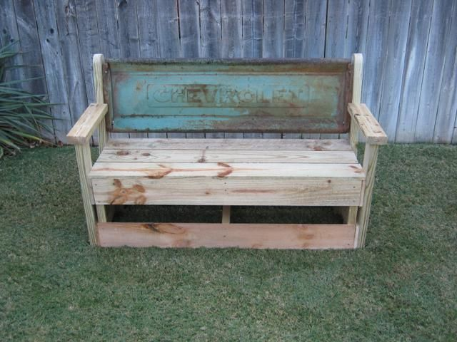 17 Best Images About Tailgate Benches On Pinterest Fire