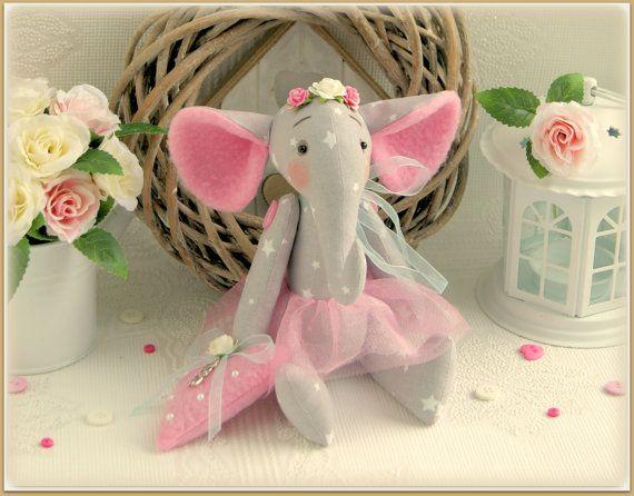 Fabric stuffed elephant soft toy Stuffed Animals gift for children cloth toy слон мягкая игрушка elephants Stuffed Animal Toy