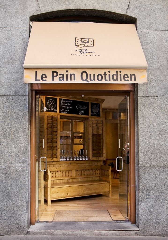 Le Pain Quotidien - all over most major cities, lots of vegan options.  small portions though (or maybe I am just a piggie :)