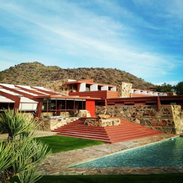 Frank Lloyd Wright's Taliesin West, Scottsdale, Arizona