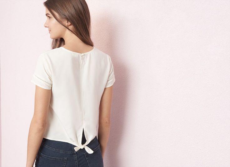 Tie Back T-Shirt
