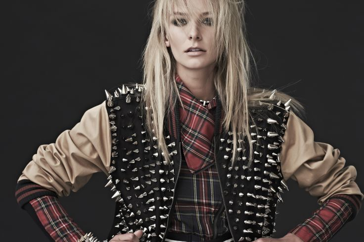 The Prickle Your Fancy Bomber layered over  the Check Mate Jacket
