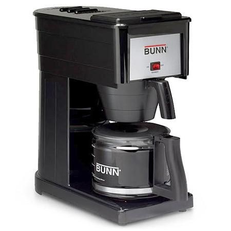 Bunn O Matic 10 Cup Black Professional Coffee Brewer, GRX B