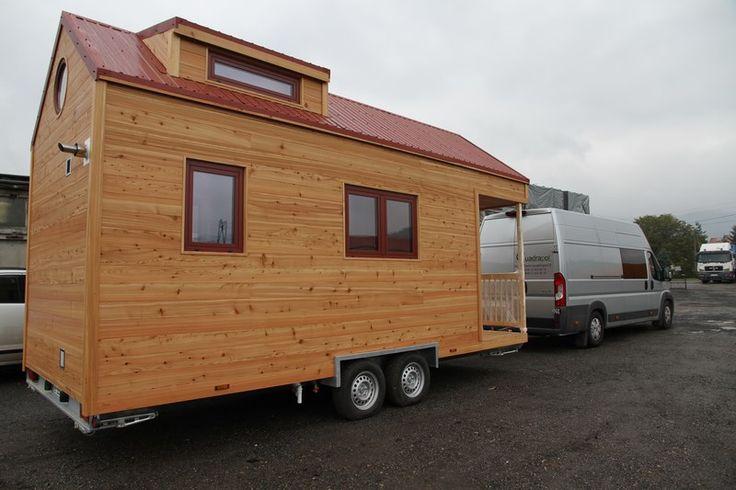 Une nouvelle tiny house prête au départ !