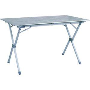 Ming's Mark TA-8114 Roll-Top Table Aluminium