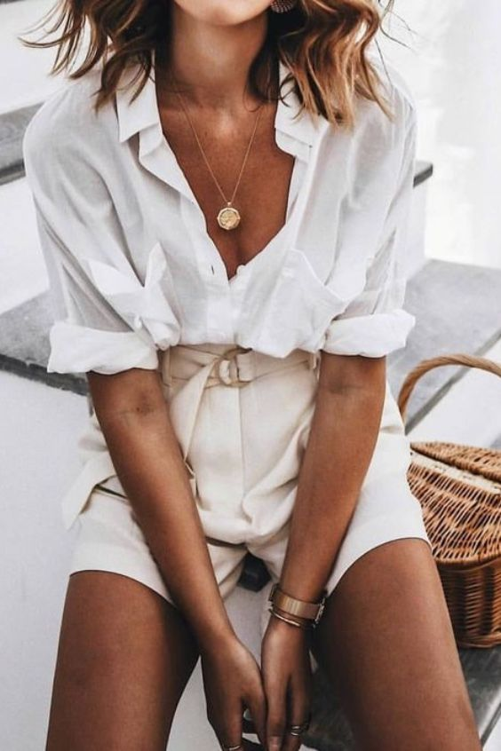 25+ Ways To Style A Button-Down Shirt