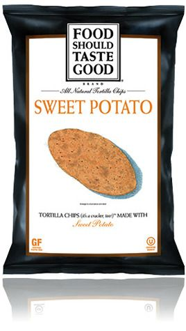Food Should Taste Good Sweet Potato Tortilla Chips - These are delicious :-)