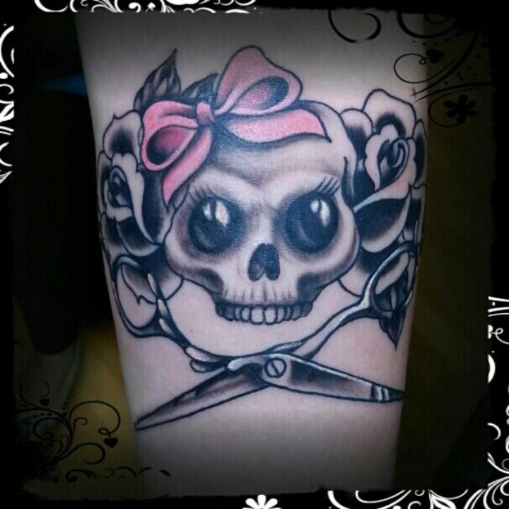 Hairdresser Tattoos Hairdresser tattoo by marc