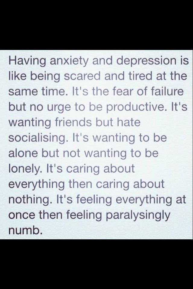 Wow. I try to avoid these feelings but sometimes they take over.