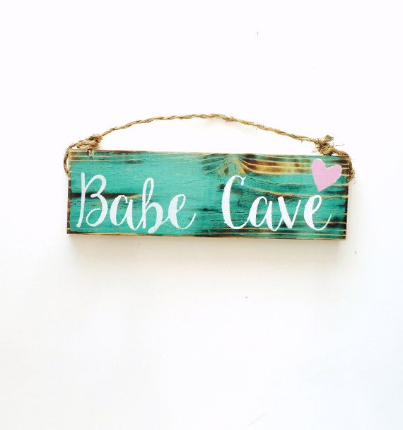 Babe Cave / girls room / trendy / gift / sign /anthropologie / urban outfitters / wholesale / sea gypsy california