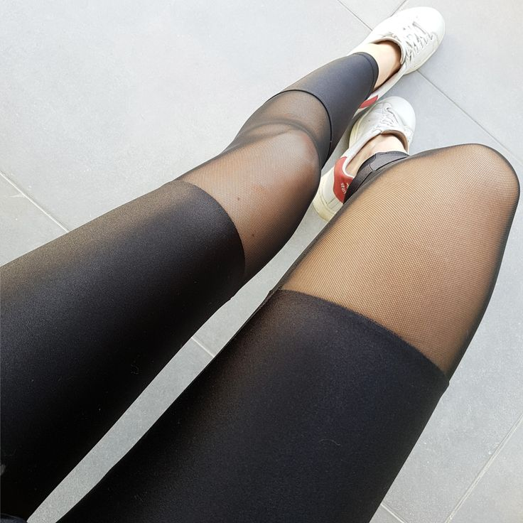 Premium lycra mesh spats leggings
